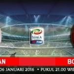 Prediksi Bola AC Milan vs Bologna 6 januari 2016