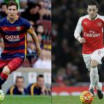 Prediksi Bola Barcelona vs Arsenal 17 Maret 2016