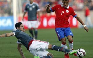 Prediksi Chile vs Paraguay 1 September 2017