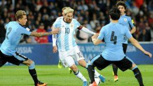 Prediksi Uruguay vs Argentina 1 September 2017