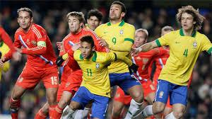 Prediksi Rusia vs Brasil 24 Maret 2018